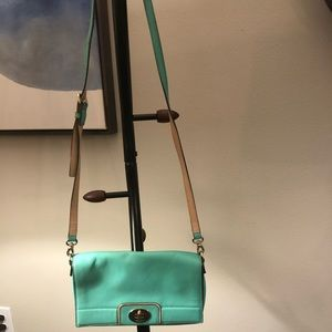 Kate Spade Mint Green Crossbody Bag